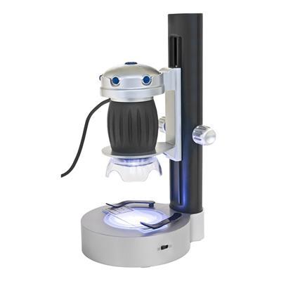 Bresser USB - příruční mikroskop 20x, 200x