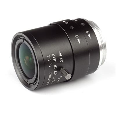 Omegon CS-Mount objektiv 2,8-12mm, f/1,4